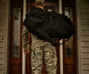 army, home, and man image