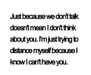 quote, distance, and Relationship image