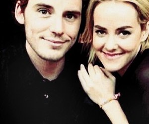 sam claflin, jena malone, and the hunger games image