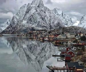 norway, mountains, and nature image
