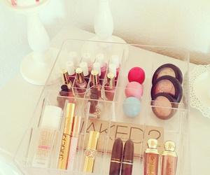 cosmetics, pretty, and eyeshadow image