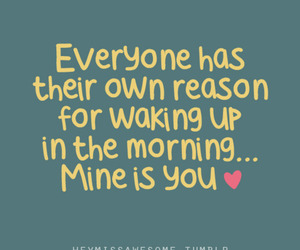 love, quote, and morning image