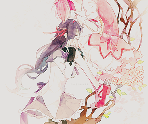 anime, madoka magica, and art image