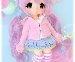 doll, kawaii, and cute image