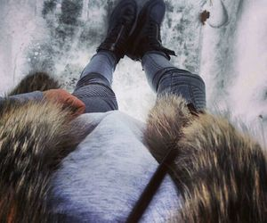 fashion, fur, and winter image
