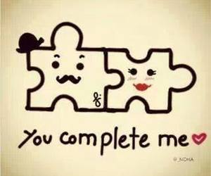 complete, me, and love image