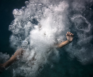 water, photography, and grunge image