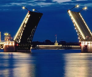 питер, ночь, and санкт-петербург image