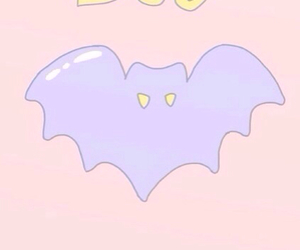 bat, pastel goth, and pastel image