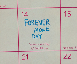 love, alone, and forever alone image