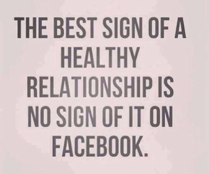 Relationship, facebook, and love image