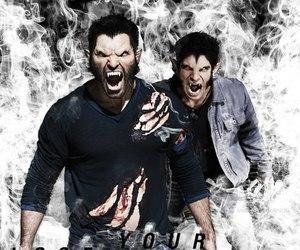 teen wolf, werewolf, and scott image