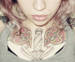 hair, tattoo, and sonhodevalsa image