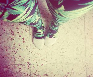 leggins and smoke weed image