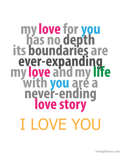 my love for you quotes for him