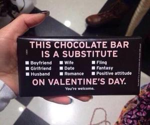 chocolate, valentine, and Valentine's Day image