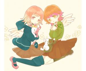 anime, dr, and girls image