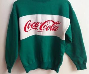 coca cola, coca-cola, and green image