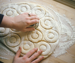 baking, Cookies, and flour image