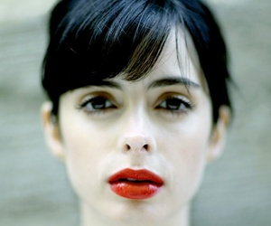 red lips, girl, and krysten ritter image