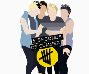 credit, luke hemmings, and 5 seconds of summer image