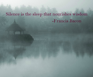 Francis Bacon, wisdom, and words image