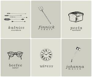hunger games, katniss, and wiress image