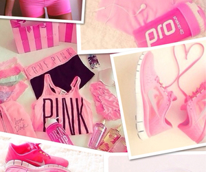 healthy, pink, and fit image