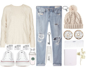 outfits, Polyvore, and style image