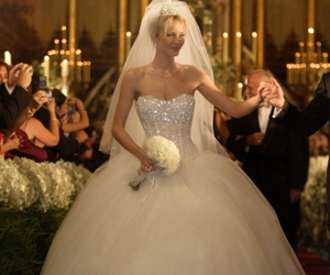 princess and wedding gown image