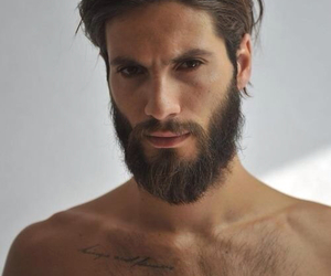 beard and handsome image