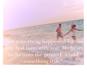 background, quotes, and beach image