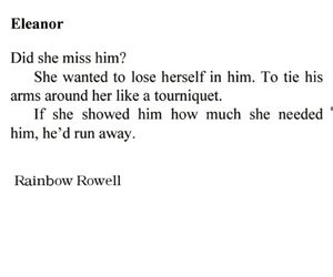 book, novel, and eleanor and park image