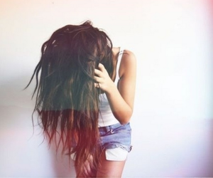 hairstyle, tumblr, and cute image