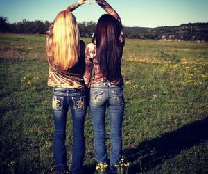 camo, country, and girls image