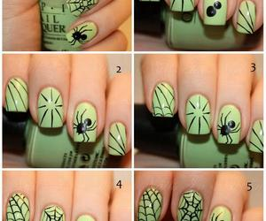 spider, diy, and nails image