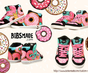 diy, donuts, and sneakers image