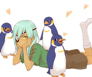 animals, penguins, and inazuma eleven image