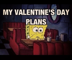 spongebob, plan, and valentine image