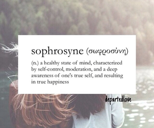 definition and sophrosyne image