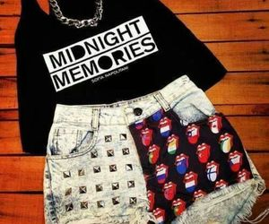 fashion, music, and midnight memories image
