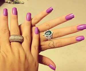 lilas, tattoo, and nails image