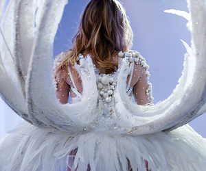 angel, Victoria's Secret, and wings image