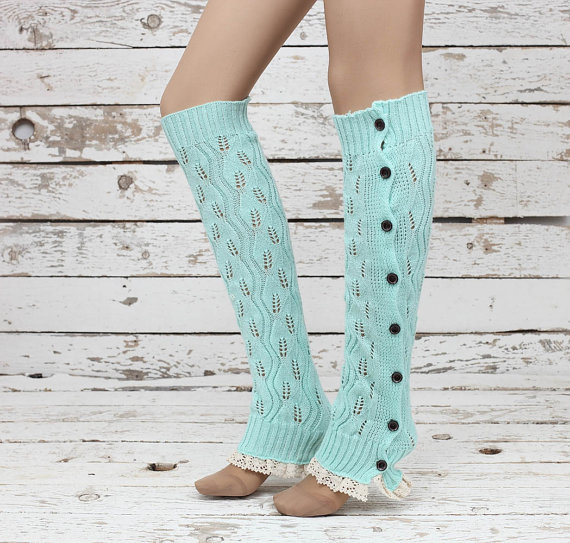 lace socks, leg warmers, and legwarmers image