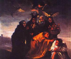 art, painting, and francisco de goya image