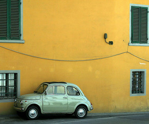 car, fiat, and green image