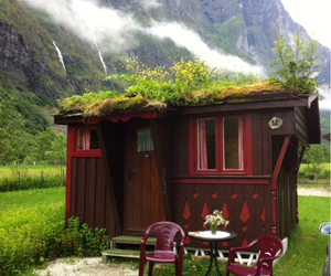 fjord, norway, and vacation image