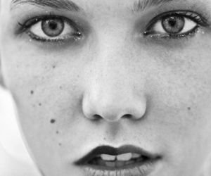 Karlie Kloss, model, and face image