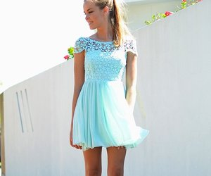 girl, dress, and fashion image