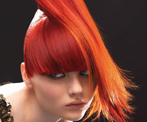 art, fashion, and hair style image